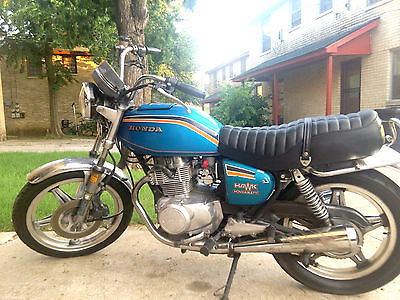 Honda : Super Hawk Original 1978 Hondamatic 400!!!