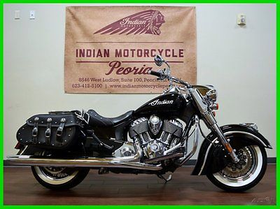 Indian : Chief 2014 indian chief classic thunder black custom vintage used