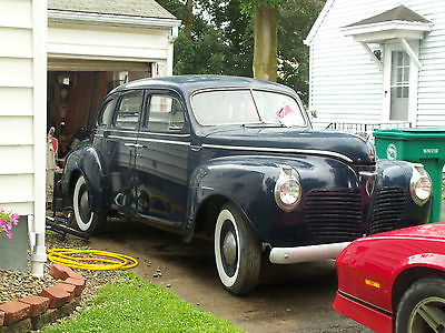 1941 Plymouth 4 Door