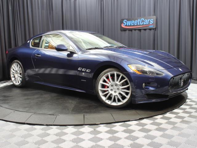 Maserati : Other 2dr Cpe Gran CLEAN CARFAX REPORT! BLU NETTUNO METALLIC!