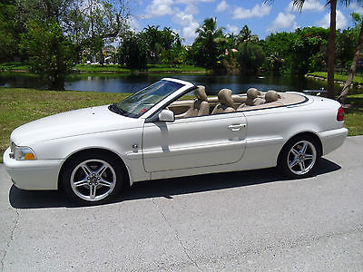 Volvo : C70 Base Convertible 2-Door 2000 volvo c 70 convertible florida car nicest on the planet