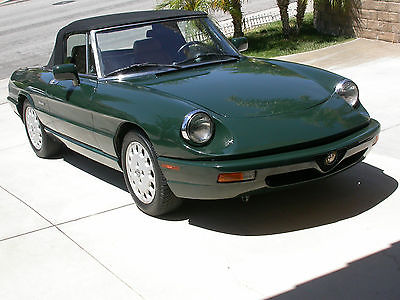 Alfa Romeo : Spider Veloce 5 speed 1992 alfa romeo spider veloce california