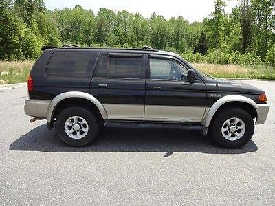 Mitsubishi : Montero Sport XLS 1999 montero sport xls