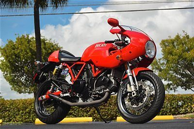 Ducati : Supersport 2008 ducati sportclassic 1000 s 6909 1 owner miles removable rear cowl orig exh