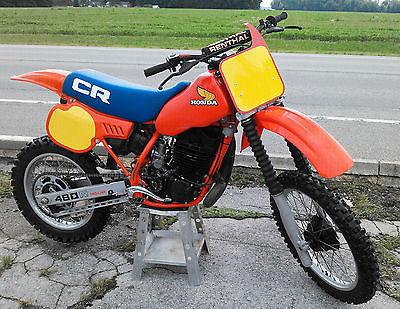 Honda : CR 1983 honda cr 480 ready to ride vintage mx ahrma cr 480