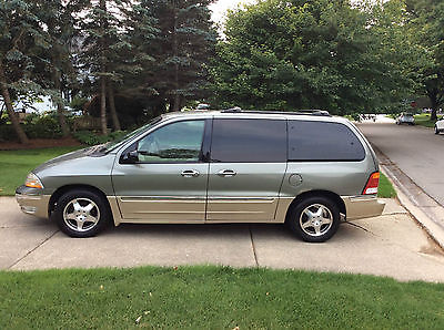 Ford : Windstar SEL 2000 ford windstar sel mini van 4 door 3.8 l leather power cherry condition