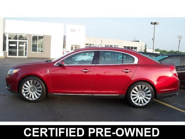 Lincoln : MKS AWD 2013 lincoln mks awd premium package one owner certified clean off lease