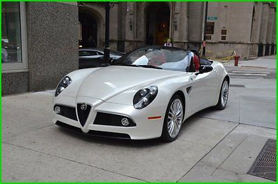Alfa Romeo : Other Alfa Romeo 8C 2009 alfa romeo 8 c competezione one of only 35 spiders in the us pearl white