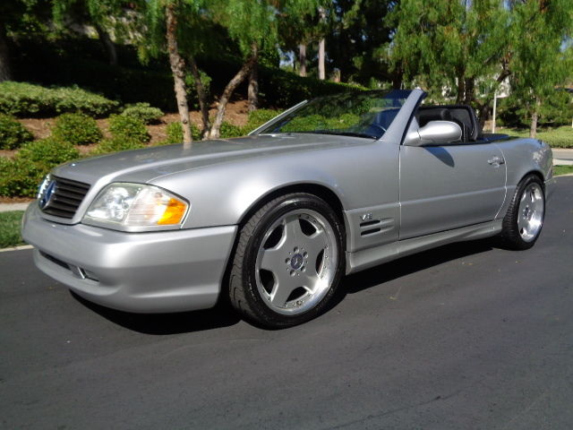 Mercedes-Benz : SL-Class SL600 AMG 2002 sl 600 with 12 k miles one owner stunning original example