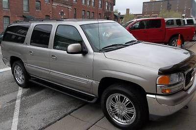 GMC : Yukon XL K1500 SLT 2001 gmc yukon xl k 1500 slt 4 x 4 loaded
