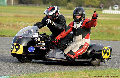 Custom Built Motorcycles : Other Yamaha XS750 Vintage Racing Sidecar