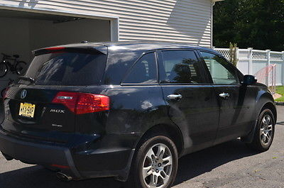Acura : MDX Sport Utility AWD w/ Tech and Entertainment Pkg 08 acura mdx with tech ent pkg one owner great condition 10 500