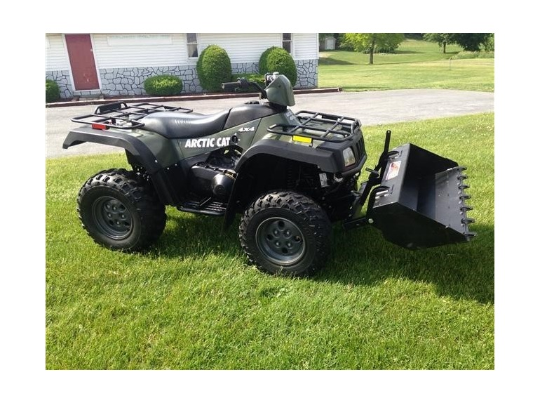 2004 Arctic Cat 500 4x4 With Dump Bucket Arctic cat