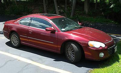 Chrysler : Sebring LXi 2003 chrysler sebring lxi coupe 2 door 3.0 l