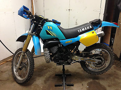 Yamaha : Other 1984 yamaha it 490 w dg exhaust head mod etc