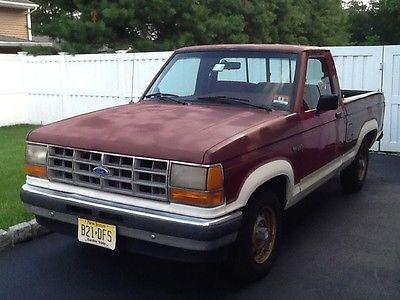 Ford : Ranger XLT Standard Cab Pickup 2-Door 1989 ford ranger xlt standard cab pickup 2 door 2.3 l