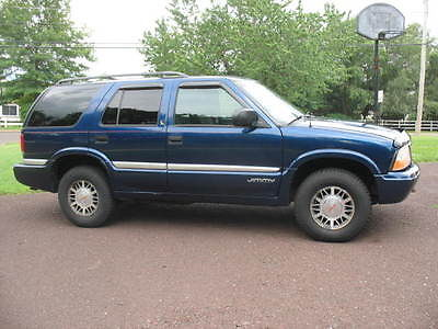 GMC : Jimmy USED 2000 GMC Jimmy SLE 4 wheel drive, four door,color blue.Clean,High Mileage