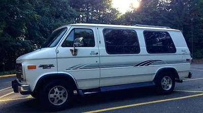 Chevrolet : G20 Van Sportvan 1994 chevrolet g 20 conversion sport van
