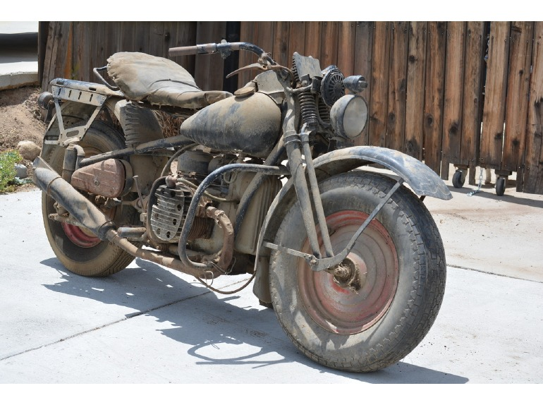 1942 Harley 45 Flathead Motorcycles For Sale