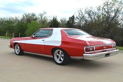 Ford : Torino Gran Torino FULL RESTORATION *Starsky & Hutch* Replica $60K Invested *Full documentation*