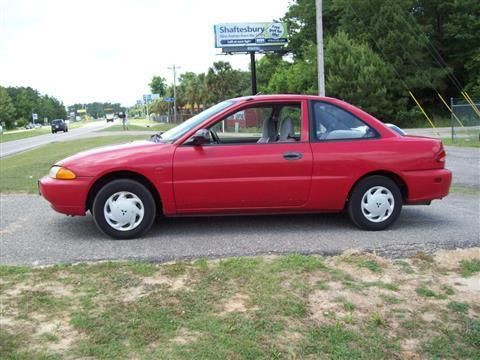 1995 Mitsubishi Mirage Coupe S Coupe 2D