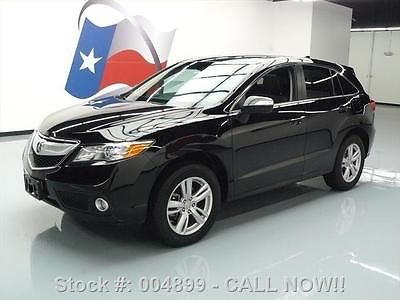 Acura : RDX TECHNOLOGY PKG SUNROOF NAV REAR CAM 2013 acura rdx technology pkg sunroof nav rear cam 47 k 004899 texas direct auto