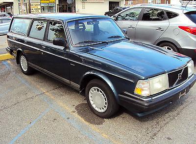 Volvo : 240 240 wagon 1990 volvo 240 wagon l k 5 speed