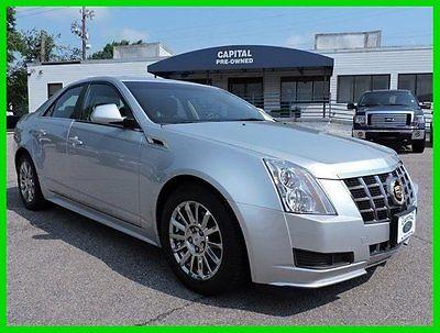 Cadillac : CTS 2012 cadillac cts automatic rwd sedan premium bose onstar siler black