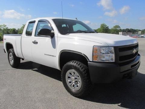 2009 CHEVROLET SILVERADO 1500 4 DOOR EXTENDED CAB TRUCK