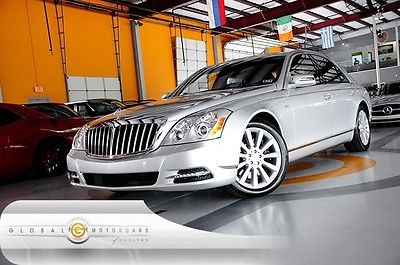 Maybach : 57 WE FINANCE 12 maybach 575 1 owner bose nav rear cam rear ent keyless pdc