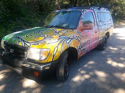 Toyota : Tacoma Base Regular Cab Pickup 2000 toyota tacoma 5 speed manual custom paint for sale 4000