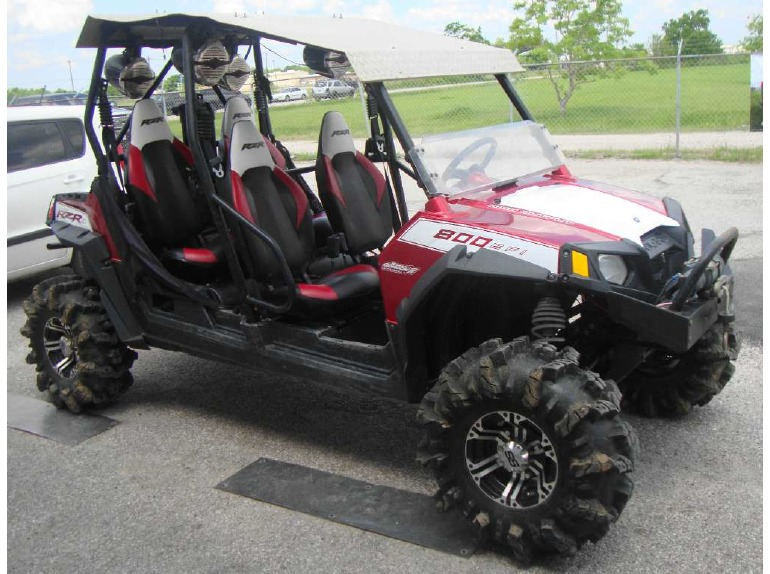 polaris ranger rzr 4 800 robby gordon le motorcycles for sale. Black Bedroom Furniture Sets. Home Design Ideas