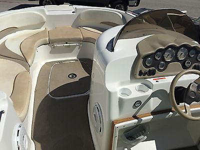 2002 Glastron DX 215 Deckboat - Low Hours
