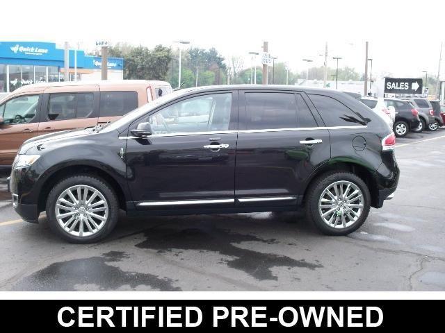 Lincoln : MKX AWD 4dr 2013 lincoln mkx awd certified 3.7 l premium elite pkg nav adaptive cruise