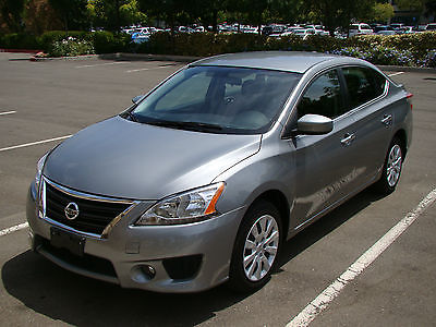 Nissan : Sentra SV Sedan 4-Door 2013 nissan sentra sv only 8 k mi automatic satellite radio don t miss