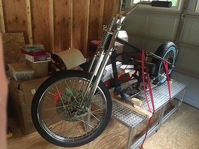 Triumph : Other Triumph 1965 TR6 Motorcycle Roller Chopper Project