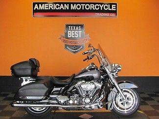 Harley-Davidson : Touring 2008 used blue harley davidson cvo flhrse 4 screamin eagle road king loaded