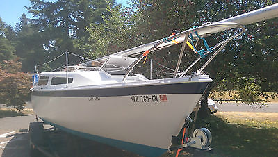 23' Northwind Sailboat with Trailer