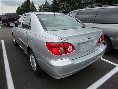 Toyota : Corolla 4dr Sedan Automatic LE 4 dr sedan automatic le automatic gasoline 1.8 l 4 cyl silver streak mica