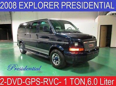 GMC : Savana Explorer One Ton Presidential Explorer Presidential Custom Conversion Van- ONE TON with 6.0 Liter Eng LOADED