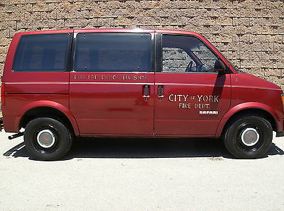 GMC : Safari SLE Standard Passenger Van 3-Door firefighting memorabilia collector car