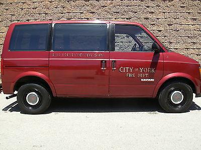 GMC : Safari SLE Standard Passenger Van 3-Door firefighting memorabilia collector car