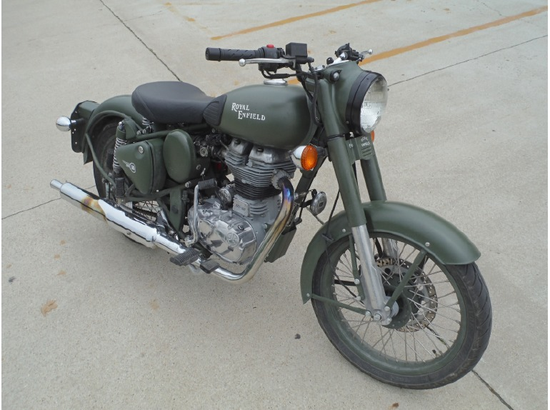 2014 Royal Enfield BULLET C5 MILITARY CLASSIC