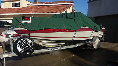 1989 18 Foot Seaswirl Boat with Trailer Can be used on Fresh and Salt Water