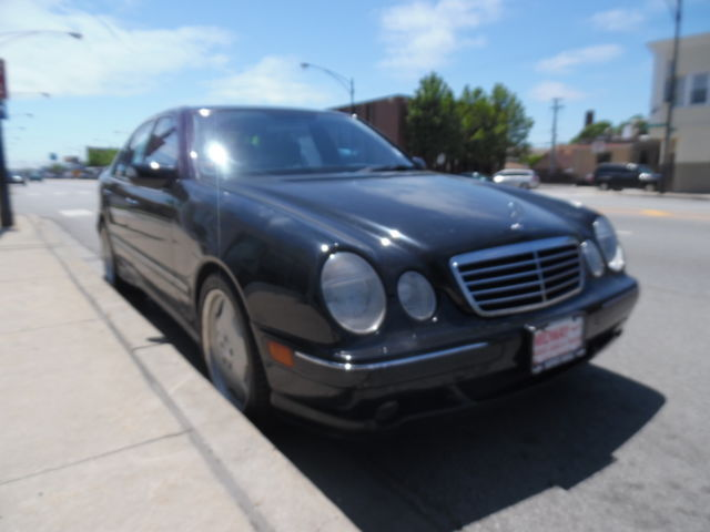 Mercedes-Benz : E-Class E55 AMG E55 AMG 5.4L Rare with all the options Black on Black ONLY 73966 miles