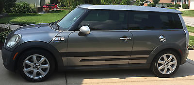 Mini : Clubman S 2010 silver mini clubman s