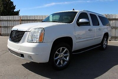 GMC : Yukon XL Denali AWD 1500 2007 gmc yukon xl denali awd 1500 repairable salvage wrecked damaged fixable