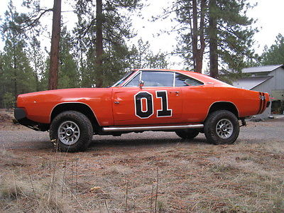 Dodge : Charger Charger with Dodge Durango Drivetrain 1968 dodge charger true 4 x 4 general lee signed by cast of dukes of hazzard a c