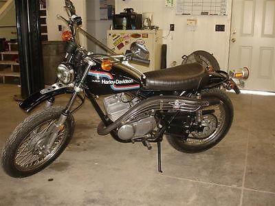 Harley-Davidson : Other 1975 harley davidson aermachii sx 175 other amf aermachii