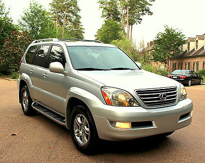 Lexus : GX 470 4WD ROOF NAVI MARK LEVISON REAR DVD DIFF LOCK 2006 lexus gx 470 4 wd air ride nav roof dvd mark levison diff lock 7 pass premium